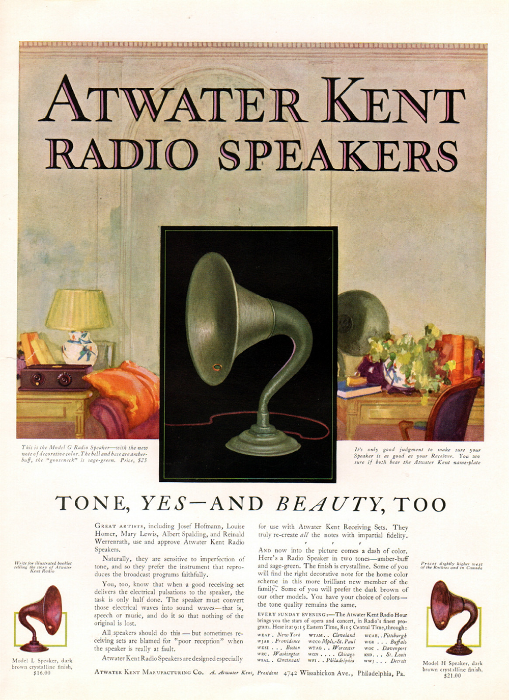 A-K Magazine Advertisement